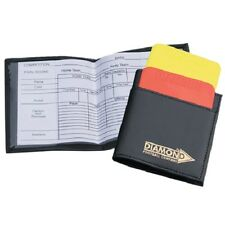 Referee Wallet by Diamond Football - Match Cards & Plastic Red / Yellow Cards