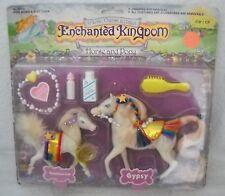 #7035 RARE NRFC Vintage Marchon Enchanted Kingdom Tambourine & Gypsy Horses