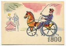 LA STORIA DELLA BICICLETTA, 1^ SERIE I PIONIERI, SANGIORGI 1800, BY PIRELLI    m