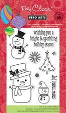 Hero Arts Poly Clear Stamps - Snow Much Joy CL629  #164