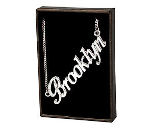 Name Necklace Brooklyn – 18K Gold Plated | Unique Birthday Designer Valentines