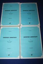 ODENT / Contentieux administratifs fascicules 1 à 4