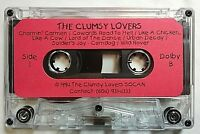 Clumsy Lovers 13 Unfinished One Takes Cassette  Tape Rare HTF Vancouver BC 1994