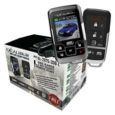 Excalibur AL-2075-3DB-L 1 Mile Range 2Way Security & Remote Start Car Alarm NEW