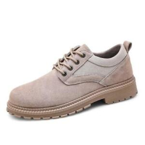 Casual Men Round Toe Lace-Up Large Size Outdoor Hiking Performance Non-Slip Shoe