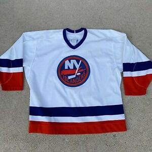 VTG 90s Gerry Cosby Authentic Center Ice New York Islanders Blank Jersey 52