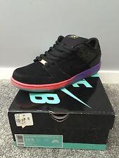 Nike Dunk Low Premium Sb Qs Black Purple Venom Size 10.5