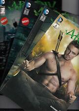 Arrow (alemán) # 1+2+3+4 completo-comic a la serie de TV-Panini 2013/2014