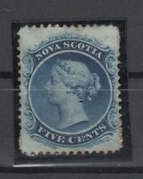 C2875/ BRITISH NOVA SCOTIA – SG # 12 MINT NO GUM – CV 575 $