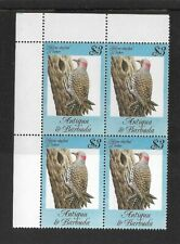 1984 Antigua & Barbuda - Song Birds - Block of four - Unmounted Mint.