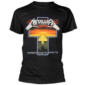 Metallica Master Of Puppets Cross Shirt S M L XL XXL Official T-Shirt New