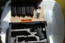 KWA Full Metal M1911 Mark III PTP Airsoft Pistol Gun in Box w/ 5 Magazines Etc