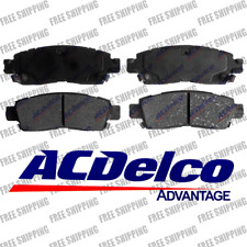 Rear Brake Pads Ceramic ACDelco Advantage 14D883CH For Buick Saab Saturn Isuzu