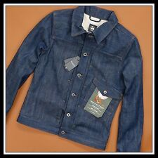G-STAR RAW LUMBER SLIM 3D JKT 82668D RED LISTING SELVEDGE JACKET RARE 395$ M