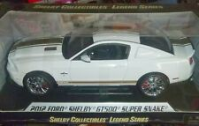 Shelby Collectibles 2012 Shelby Mustang GT-500 SUPER SNAKE WHITE Diecast 1/18