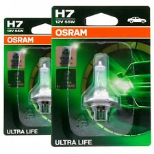 2x H7 OSRAM Ultra Life 64210ULT-01B 12V Extra Lifetime Lampe Set 2 Stück