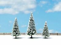 NOCH ALL SCALE SNOW FIR TREES 8-12CM 3/ | BN | 25234