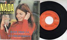NADA canta in SPAGNOLO disco 45 Hace frio ya STAMPA SPAGNOLA 1969 Sanremo