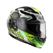 Hjc 101504s Casco Moto Nero/verde Fluo S (t3e)