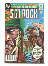 SGT. ROCK #379 HIGHER GRADE DRAMATIC KUBERT COVER CANADIAN PRICE VARIANT