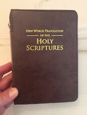 NEW WORLD TRANSLATION BIBLE COVER, BROWN, JEHOVAH'S WITNESS