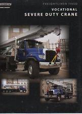 """FREIGHTLINER"""" 114SD"""" professionnelle grave Duty Crane Truck camion brochure dépliant"""