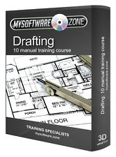 Learn Drafting 10 Manual Training Course CD Drawing Blueprint Reading Sketching