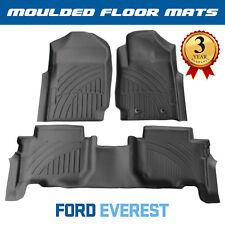 Ford Everest Moulded 3D Custom Floor Mats