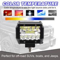 4inch 60W LED Work Light Bar Spot Flood Driving Truck Lamp 16000LM 12V 24V
