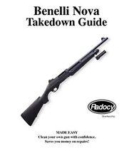 Benelli  Nova   Shotgun Takedown Disassembly Assembly Guide Radocy