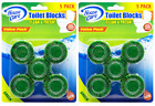 House Care Green Toilet Bowl Blocks Clean & Fresh, 5 Ct. (Pack of 2)