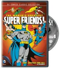 World's Greatest Super Friends!: And Justice for All (2013, REGION 1 DVD New)