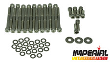 C20XE & C20LET stainless rocker cover kit - inc plug,timing & heat shield bolts!