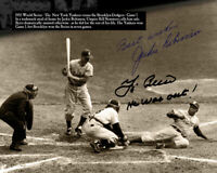 Jackie Robinson Autographed Signed 8x10 Photo ( HOF Dodgers ) REPRINT