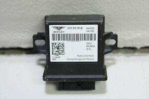 2012 - 2018 Bentley Continental GT GTC Energy Managment Control Module Unit Oem