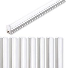 8 Pack 4FT Barrina LED Shop Light Linkable T5 led Integrated Fixture Ceiling