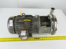 """Tri-Clover 218ME18T-S 3"""" x 1-1/4"""" Stainless Steel Centrifugal Pump 3Hp 3Ph"""