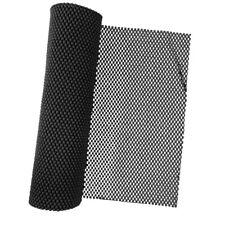 Black Foam Rubber Anti-Slip Shelf Drawer Liner Mat for Kitchen Cupboard