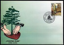 501 Montenegro 2002 Forests Protective FDC