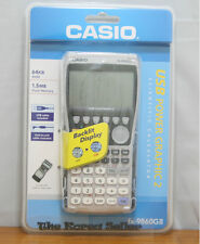 New Casio Fx-9860Gii 2 Usb Graphing Calculator backlight Lcd / Ref Rref Function