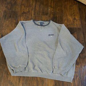 Vintage Men's BIG DOGS gray crewneck Sweatshirt - size 3XL