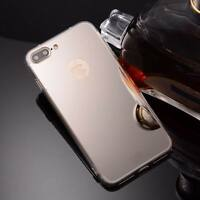 Luxury Ultra-thin Soft Silicone TPU Mirror Case Cover For iPhone X 5s 6 7 8 Plus