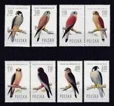 Echte Briefmarken aus Polen mit Vögel-Motiv als Satz