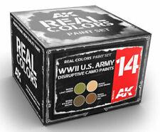AK Interactive #AKI-RCS014 Real Colors: US Army Disruptive Camo Paint Set