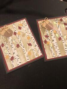 Handmade Thanksgiving Greeting Cards