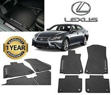 Lexus Gs350 Gs450H Gs300 (2013-2019)(Rwd) 4pc Oem Genuine All Weather Floor Mats (Fits: Lexus)