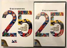 NEW BEST OF WARNER BROS. 25 CARTOON COLLECTION DC COMICS DVD 3 DISC + SLIPCOVER