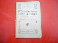 G.ROSSINI-IL BARBIERE DI SIVIGLIA-MELODRAMMA BUFFO IN DUE ATTI-A. BARION-1920