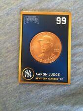 2018 Baseball Treasure Aaron Judge NY Yankees #99 Coin!