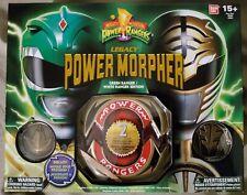 Power Rangers - Legacy Power Morpher - Green/White Ranger Edition